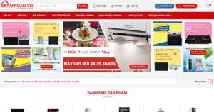 Thiết kế website Đồ gia dụng