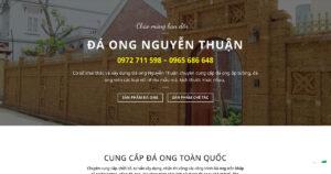 Thiết kế website Vật liệu xây dựng