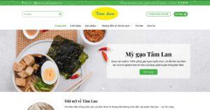 Thiết kế website Mỳ gạo