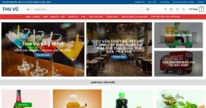 Thiết kế website Nguyên liệu trà sữa