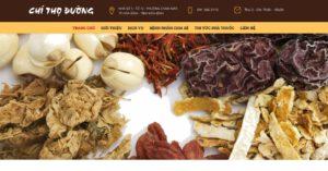 Thiết kế website Đông y, Tây y