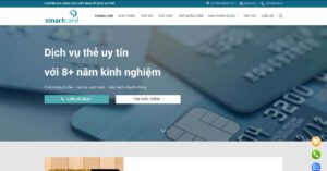 Thiết kế website Sản xuất thẻ