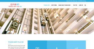 Thiết kế website Thang máy