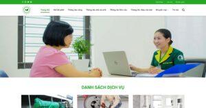 Thiết kế website Hút bể phốt
